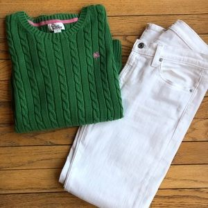 Lilly Pulitzer Cableknit Sweater, Sz S